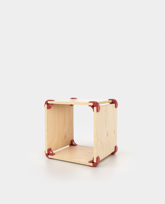 cube de rangement modulaire pratique et demontable