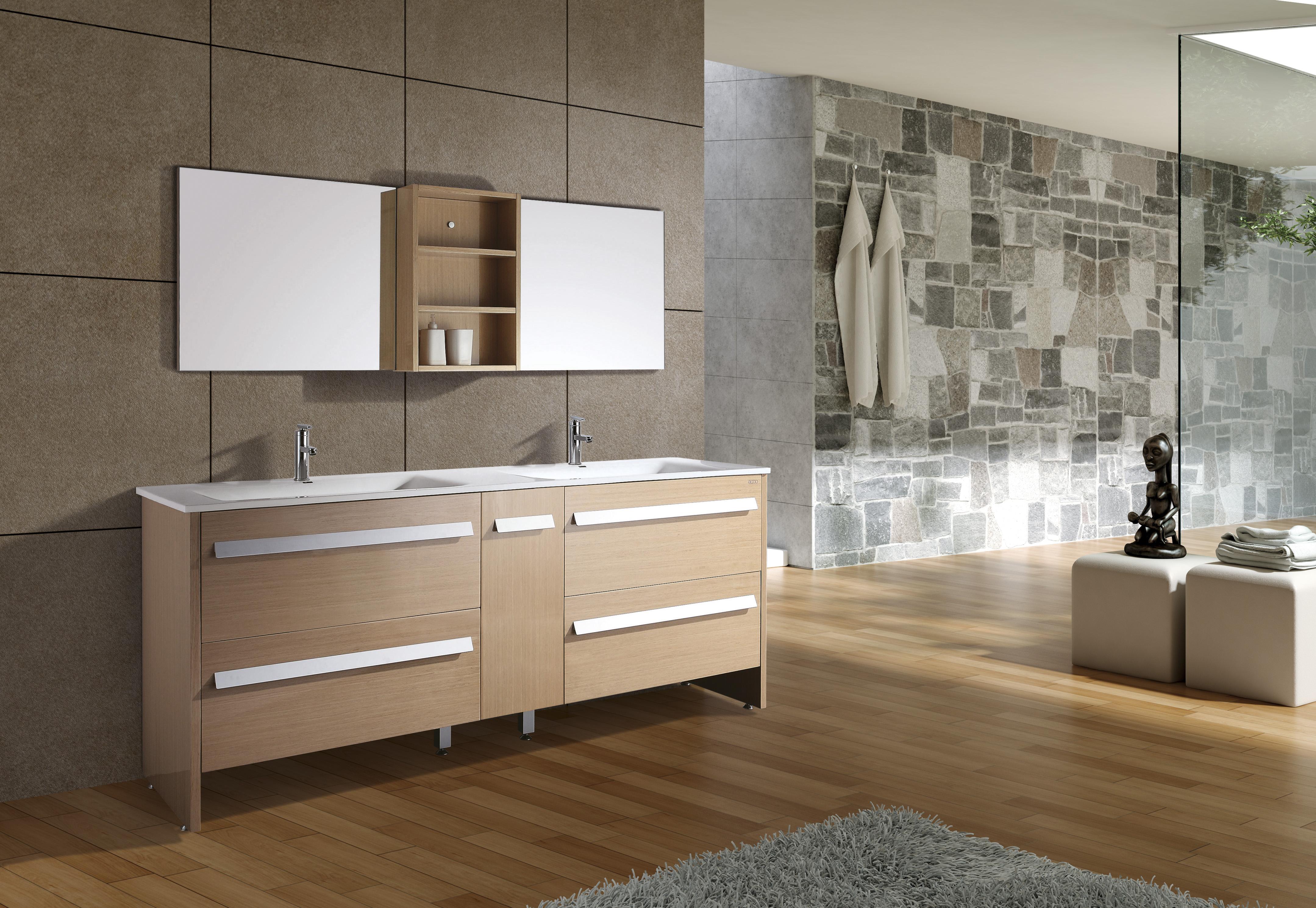 double sink design bathroom