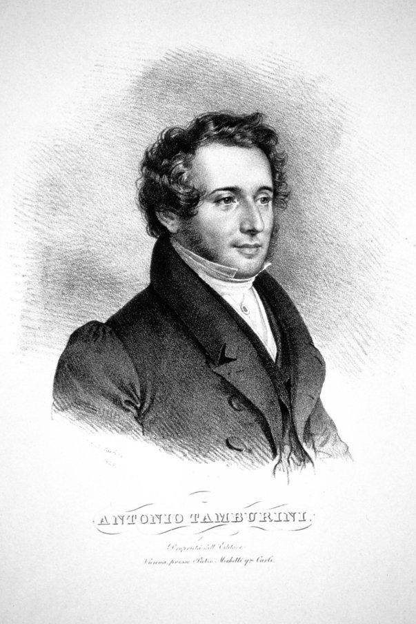 Il baritono Antonio Tamburini