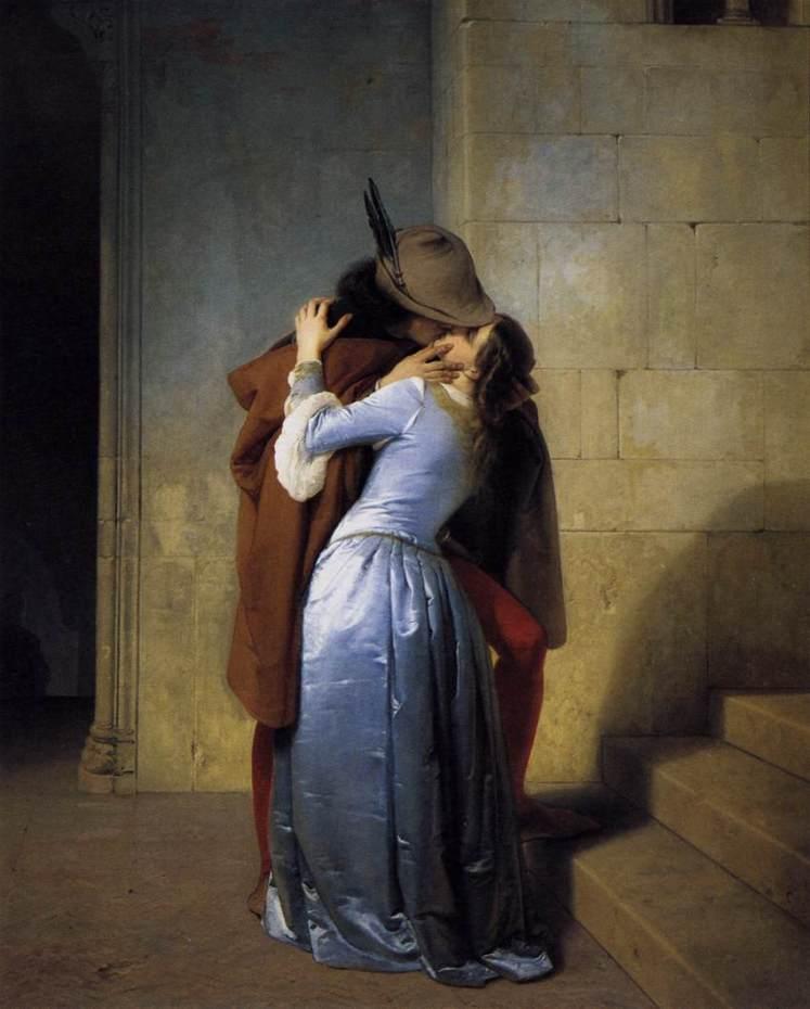 Francesco Hayez: il bacio