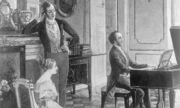 Mendelssohn-playing-for-Q-001