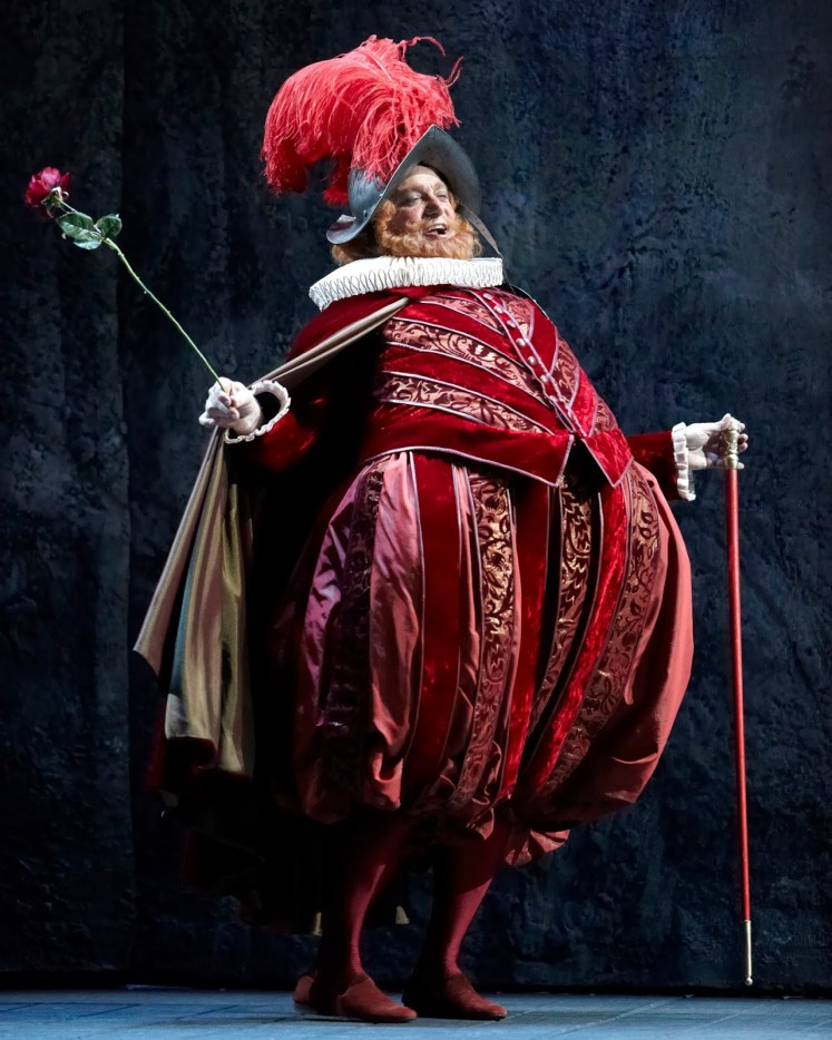 2) Roberto Frontali as Falstaff © Marc Vanappelghem courtesy of Opera de Lausanne