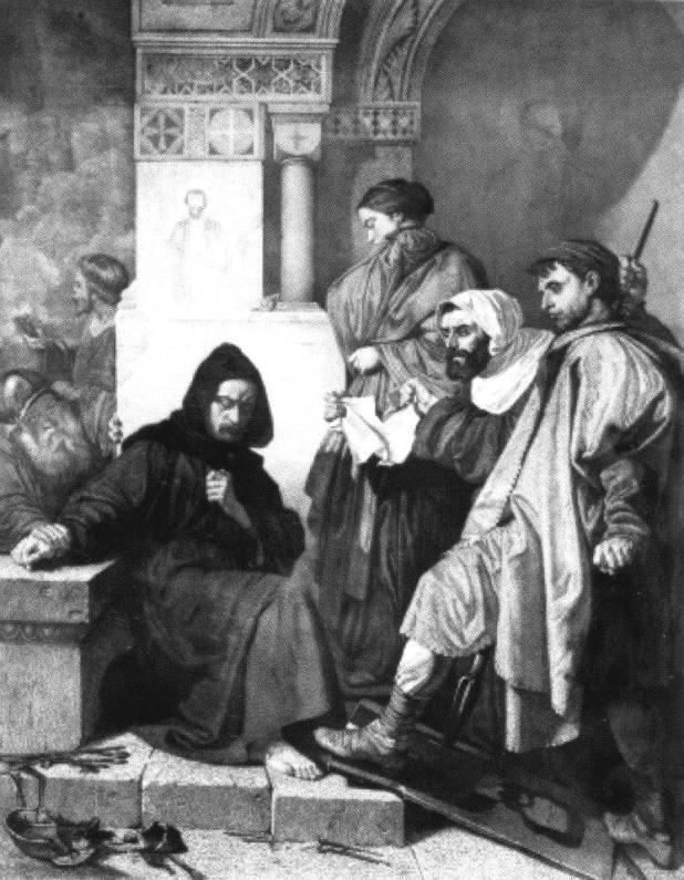 F. Di Bartolo: Gl'Iconoclasti, da un dipinto di Domenico Morelli