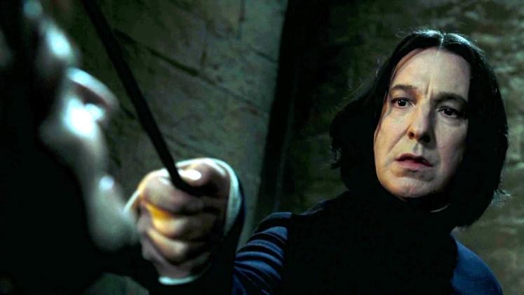 Alan Rickman nei panni del Professor Severus Piton in Harry Potter
