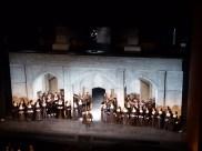 Cast at the curtain call, Anna Bolena, The Met