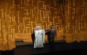 Christine Goerke (Turandot) and Marcelo Alvarez (Calaf) at curtain call