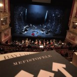 Mefistofele stage view from Rang 1, Bayerisches Staatsoper