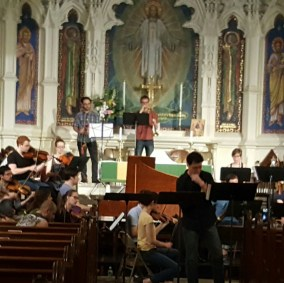 orch rehearsal at holy trinity lutheran