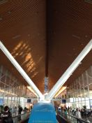 Another shot of Kuala Lumpur Airport. Spectacular and pleasant - even the shopping - at every turn.