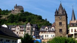 Victor Hugo in Bacharach