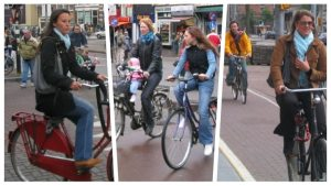 Why the Dutch don't wear bicycle helmets