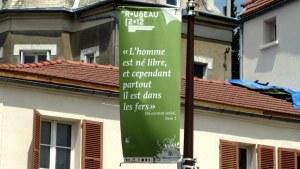 Rousseau in Montmorency