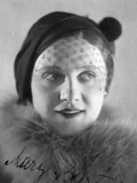 Mary Bártů, (1902 – 1960)