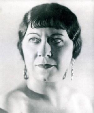 Marie Žaludová, (1898 – 1985), foto: Archív ND Brno