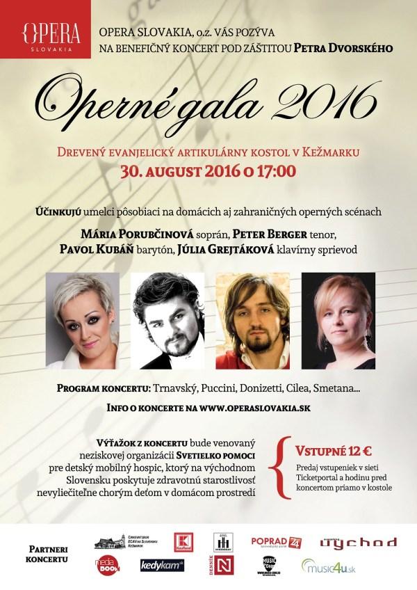 Plagát Operné gala 2016 A4 final