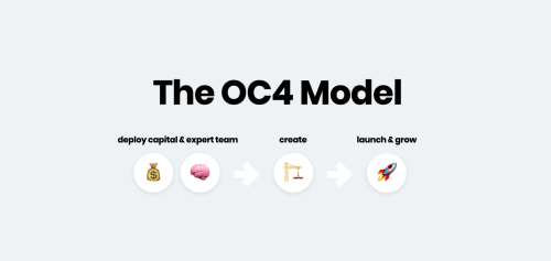 oc4 venture studio model