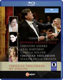 Richard Strauss Gala (Semperoper Dresden, 2014) [Blu-ray]