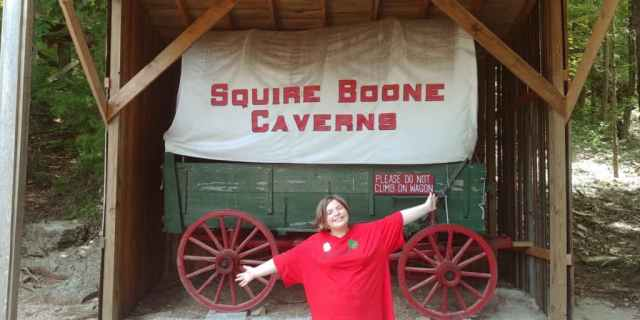 Get Lost in Squire Boone Caverns