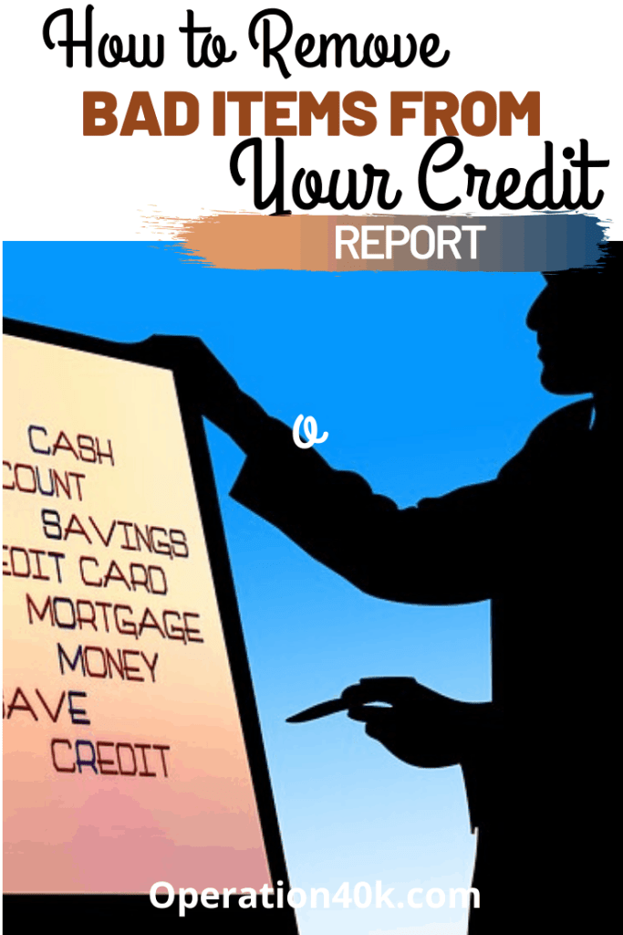 Remove Bad Items from Your Credit Report article cover image