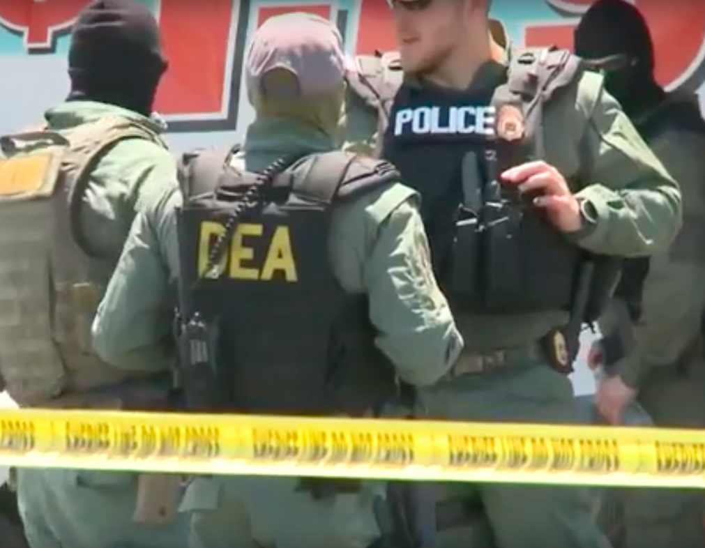 The DEA Seized 14 Million Doses of Fentanyl In San Diego County