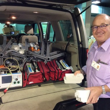 another car load of medical equipment donations