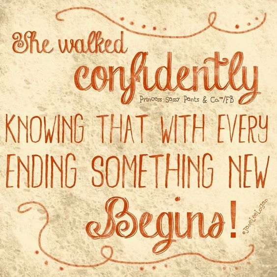 walk confidently