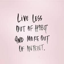 less-habit