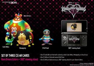 Kingdom Hearts 3D Pre-Order Incentives