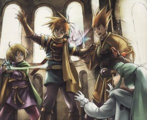Golden Sun Cast & Djinn