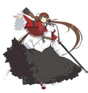 Kagura Shinobi Venus - Hikasa - Character Art