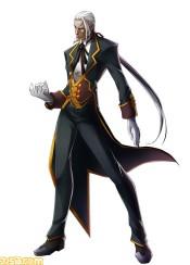 BlazBlue Chrono Phantasma Valkenhayn R. Hellsing