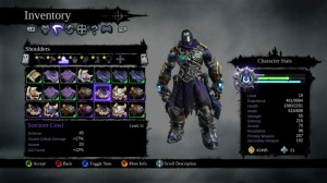 Darksiders II inventory