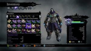 Darksiders II inventory