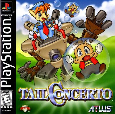 Tail Concerto - North American Cover Art | Little Tail Bronx - oprainfall