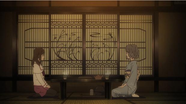 Shin Sekai Yori - Saki and Asahina