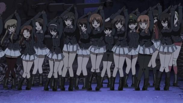 Girls und Panzer Dance