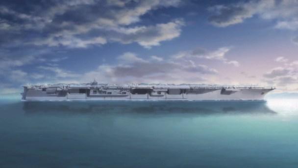 Girls und Panzer Sanders School Ship