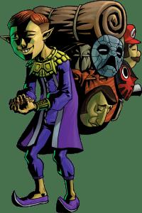 Majora's Mask Happy Mask Salesman