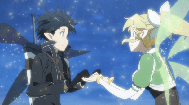 Sword Art Online Kirito and Leafa Dance