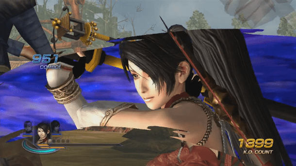 Momiji in Warriors Orochi 3 Hyper