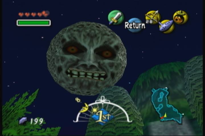 Majoras Mask Moon Giants oprainfall Origins: Th...