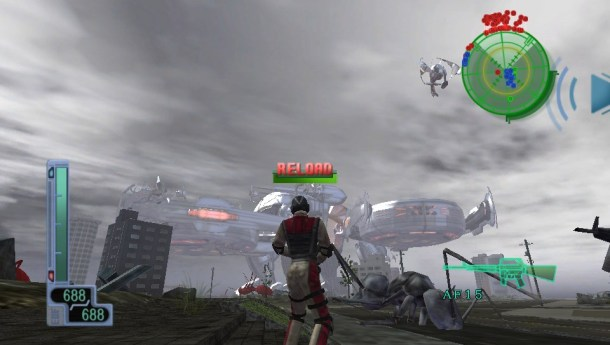 Earth Defense Force 2017 Portable screen cap 2