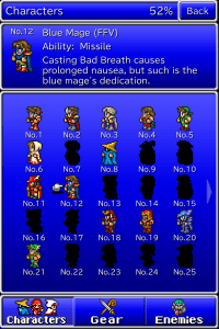 Final Fantasy All the bravest 3