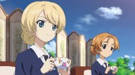 Girls und Panzer Darjeeling and Orange Pekoe