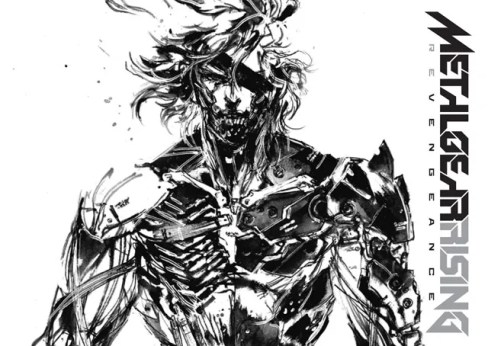 Metal Gear Rising Revengeance Art Book