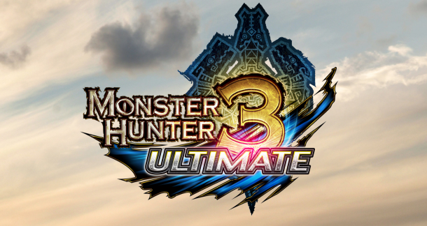 Monster Hunter 3 Ultimate Logo