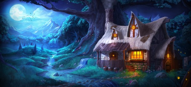 Trine 2 DC Europe - Concept Forest