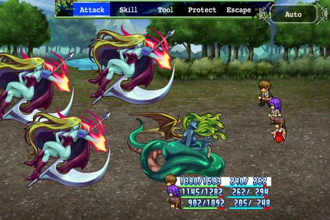 Aeon Avenger—Battle