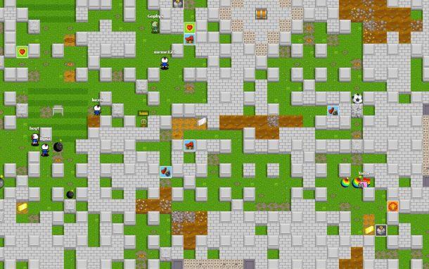 Bombermine map