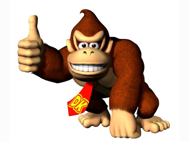 Donkey Kong Art - Nintendo Download February 26th